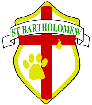 St Batholomew logo. Photo credit: www.stbartsschool.com