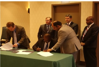 Guadalcanal and Saskatchewan Province Sign Labour Mobility Agreement. Photo credit: SIBC.