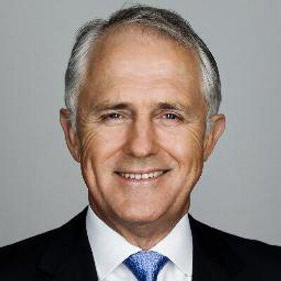 New Australian Prime Minister Malcolm Turnbull. Photo credit: Twitter.
