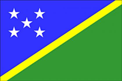 Solomon Islands flag. Photo credit: SIBC.