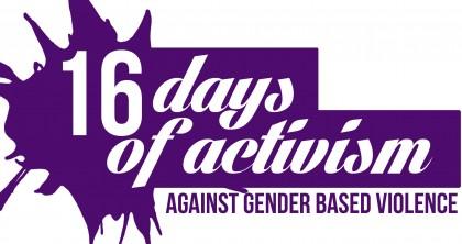 16 Days of Activism logo. Photo credit: www.phoenixyouth.com.au