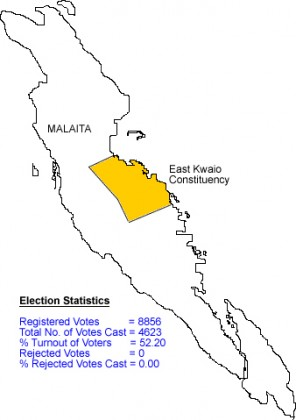 East Kwaio Constituency. Photo credit: Parliament.
