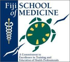 The Fiji School of Medicine logo. Photo credit: FSM.