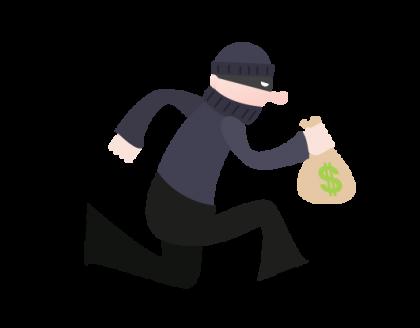 A robbery clip art. Photo credit: worldartsme.com