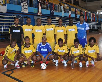 The Kurukuru team. Photo credit: futsal4all.com