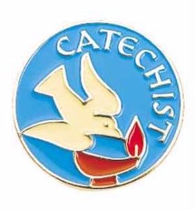 Catechist lapel pin. Photo credit: catholicblogger1.blogspot.com