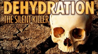 Dehydration the silent killer. Photo credit: www.myhdiet.com