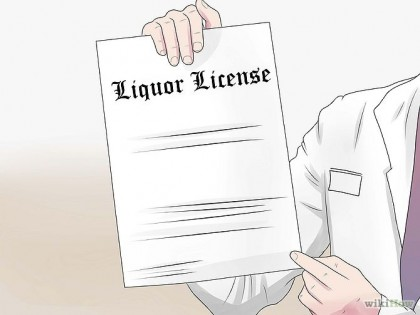 Liquor license. Photo credit:www.wikihow.com