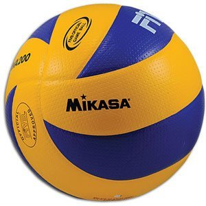 A volleyball. Photo credit: mbci.mb.ca