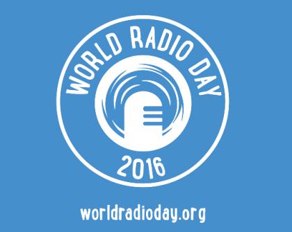 World Radio Day 2016. Photo credit: www.hillzfm.co.uk