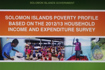 The Household Income and Expenditure Survey 2012-13. Photo credit: SIBC.