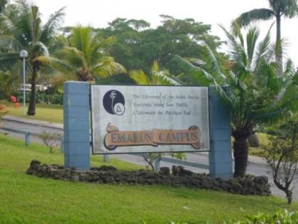 University of the South Pacific, Emalus Campus, Vanuatu. Photo credit: USP Emalus Campus.