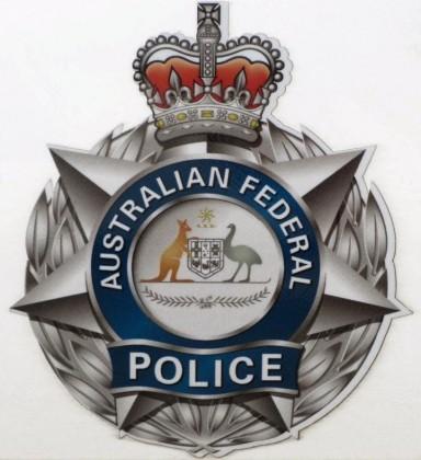 The Australian Federal Police logo. Photo credit: www.flickr.com