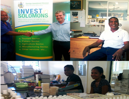 Businesses in the Solomon Islands. Photo credit: Rosalie Nongebatu.