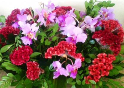 Floral art. Photo credit: SIBC.