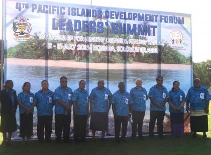 PIDF Leaders. Photo credit: SIBC.