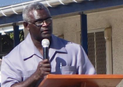 Prime Minister Manasseh Sogavare.