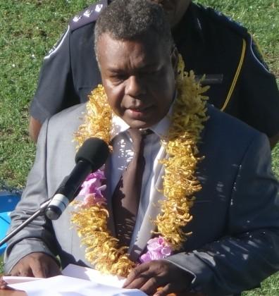 Supervising HCC Mayor Charles Aiwosuga. Photo credit: SIBC.