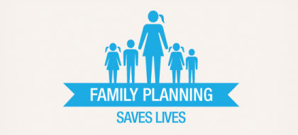 Family Planning saves lives. Photo credit: www.mariestopes.org.au