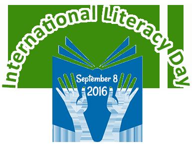 International Literacy Day September 8 2016 Logo. Photo credit: askideas.com