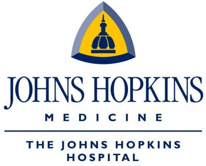 Johns Hopkins Hospital logo. Photo credit: hospitals.healthgrove.com