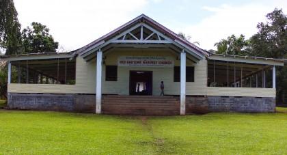 Kiu Church the venue of the Women's convention. Photo credit: SIBC.