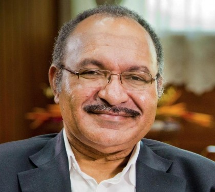 PNG Prime Minister Peter O'Neill. Photo credit: Twitter.