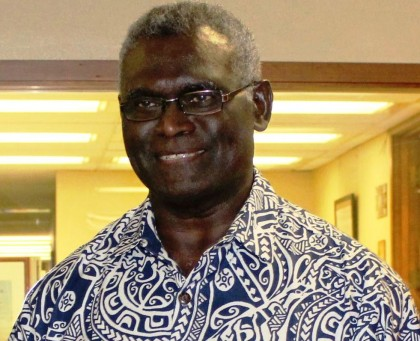 Prime Minister Manasseh Sogavare. Photo credit: PM Press Secretariat.