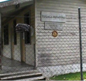 The Tulagi Hospital in Central Islands Province. Photo credit: SIBC.