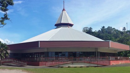 The United Church Headquarters in Honiara.