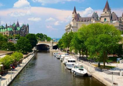 Canada's capital city Ottawa. Photo credit: Expedia.