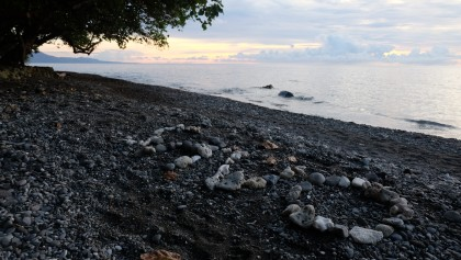A sunset from Savo Island