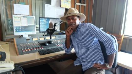 SIBC head of presentation Rolland Koofuli is hosting SIBC's new breakfast program.