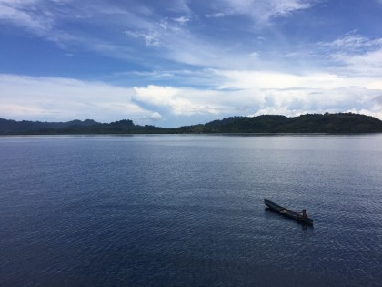 Some of the stunning scenery in the Solomons