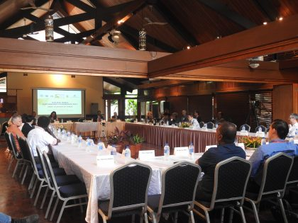 2017 Pacific Media Partnership conference day 1 pictures