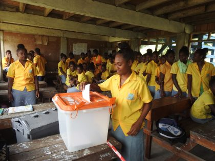 School Election Project rolls out