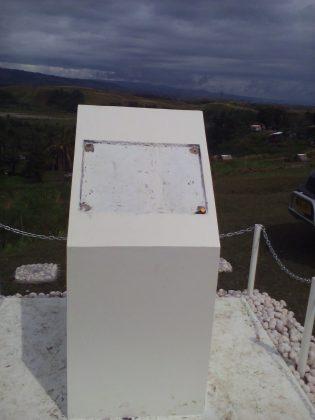 Bloody Ridge plaque thief arrested