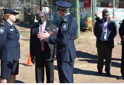 PM visits  Australian Police Training Facility