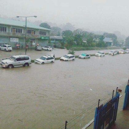 Kukum Highway turns into Kukum River as heavy rain hits Honiara