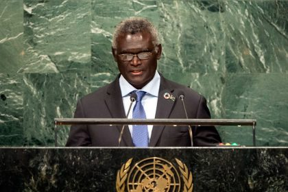 US must reconsider Paris agreement: Sogavare