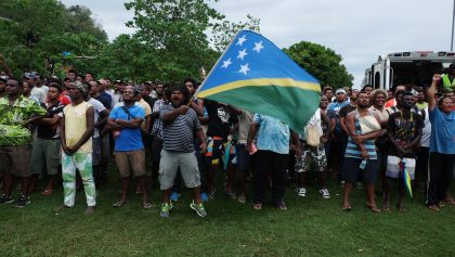 Solomon Islands v New Zealand World Cup qualifier gallery