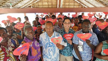 'We heart U': health experts call on Solomon Islanders to look after their hearts