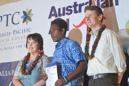 Almost 100 graduate from Australia-Pacific Technical College