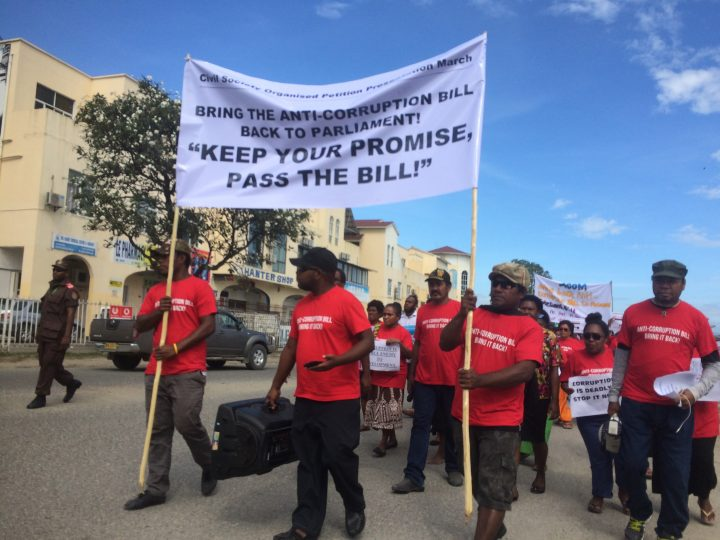 Timeline set for anti-corruption bill