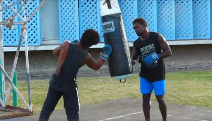 WATCH: SIBC chats to the Solomon Islands boxing team