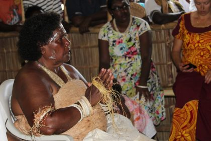 Kadevuru Sinaqi tribe enthrones woman as chief