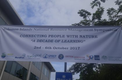 First national environmental Symposium kicks off