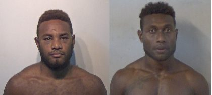 Two at large after escape at Honiara court