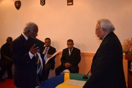 Houenipwela sworn in as Prime Minister