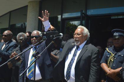 SIBC Podcasts: Prime Minister-elect Houenipwela addresses nation